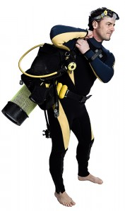 Diver and Gear